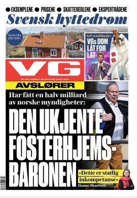 VG tirsdag 9. mai