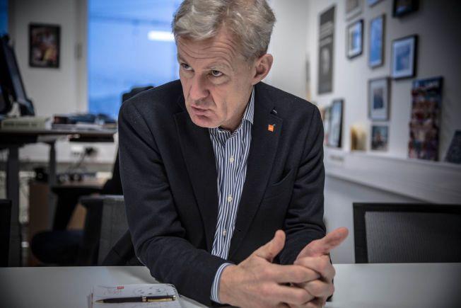 SKAL LEDE: Jan Egeland skal lede det internasjonale arbeidet med å få mat og forsyninger inn til beleirede områder i Syria. Han startet allerede natt til fredag.