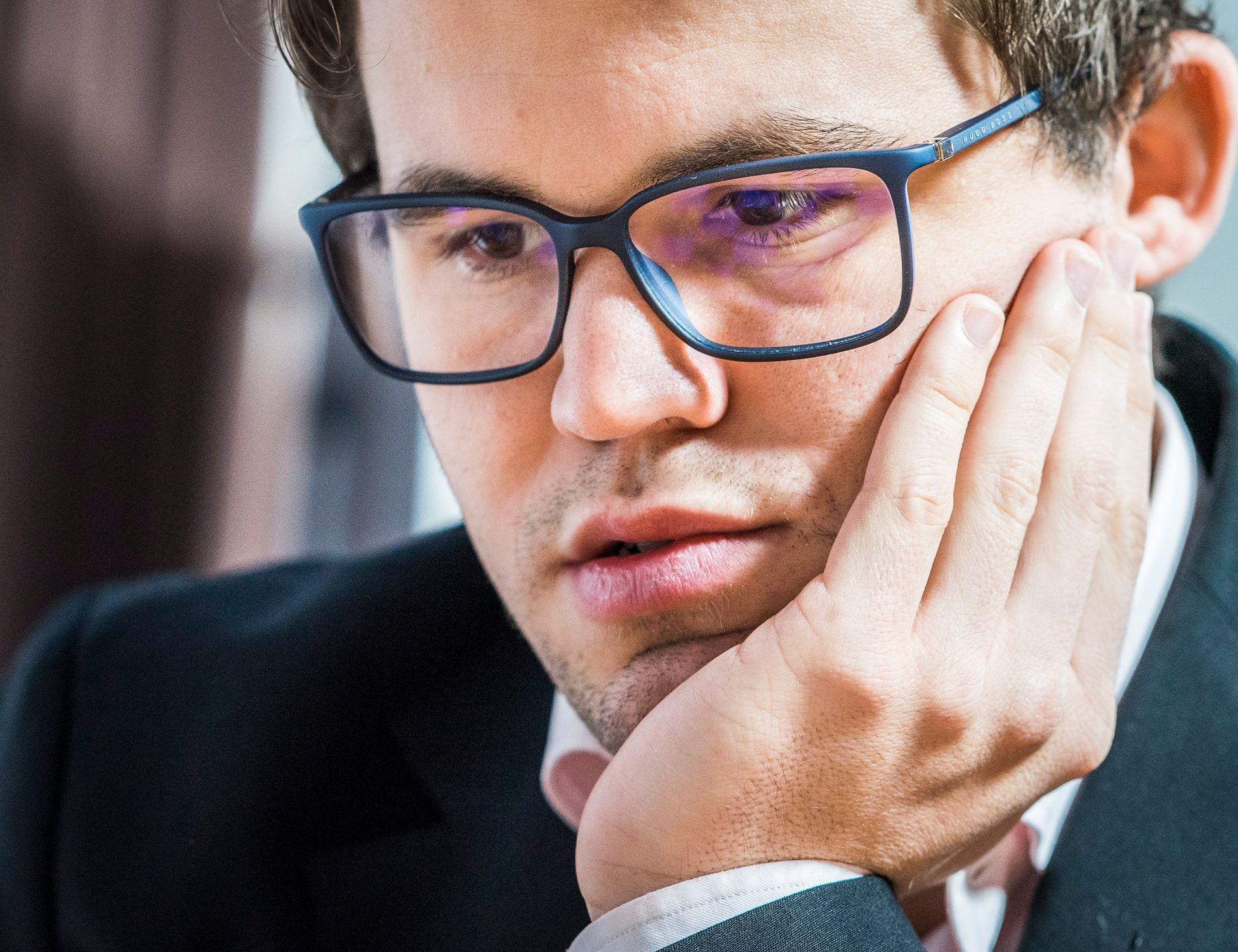 VERDENSREKORD: Magnus Carlsen hadde i løpet av mandagen en lynsjakk-rating høyere enn hans egen bestenotering.