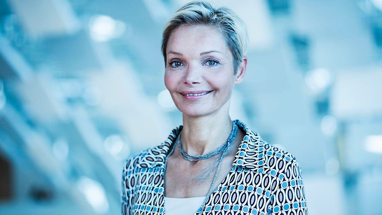 SPESIELL UTTALELSE: Danske Karen Tobiasen er HR-direktør og medlem i Nordeas konsernledelse. Hun listet opp Adolf Hitler som en av lederne hun inspireres av.