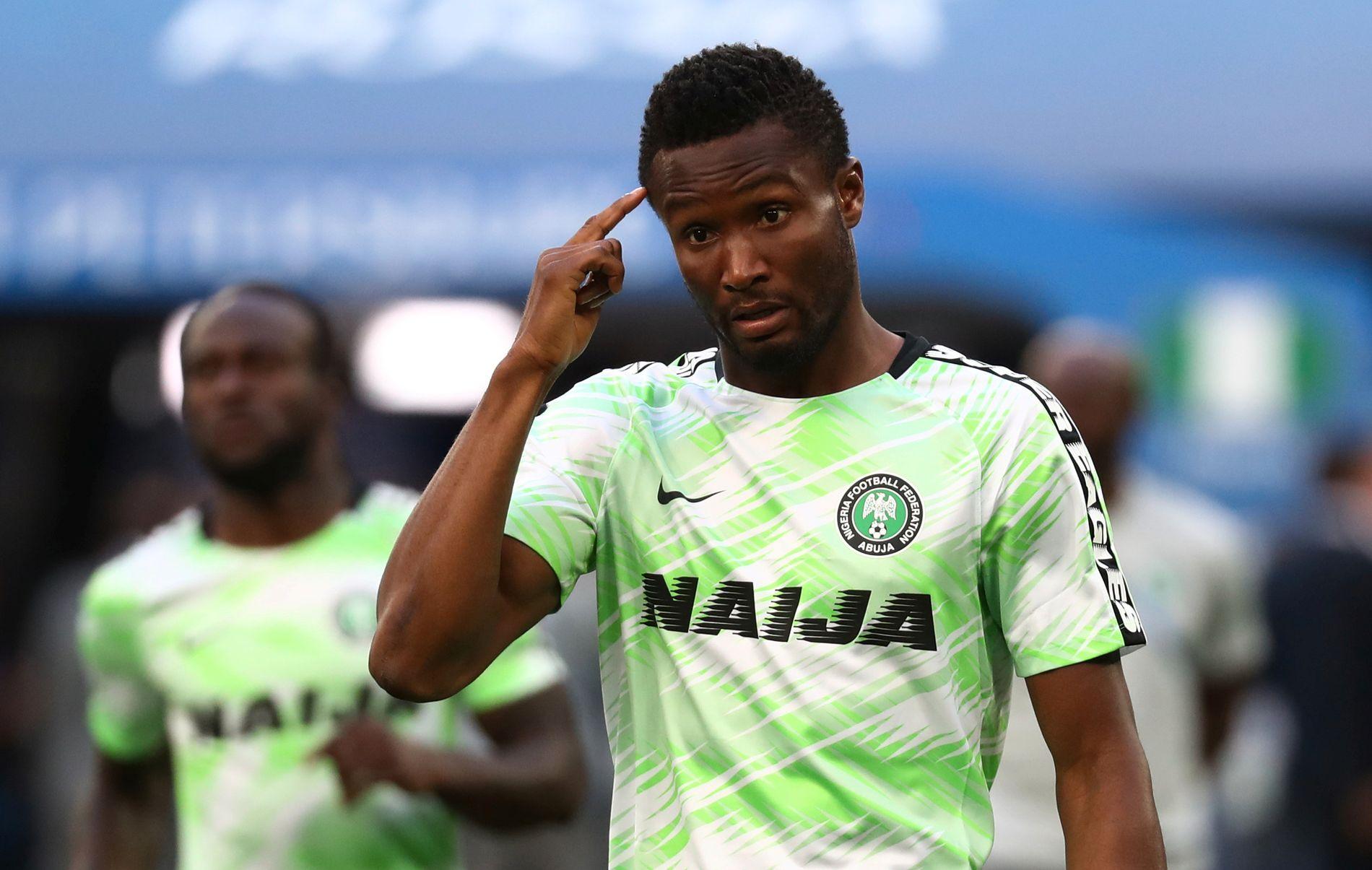 KAPTEIN: Nigerias Jon Obi Mikel.