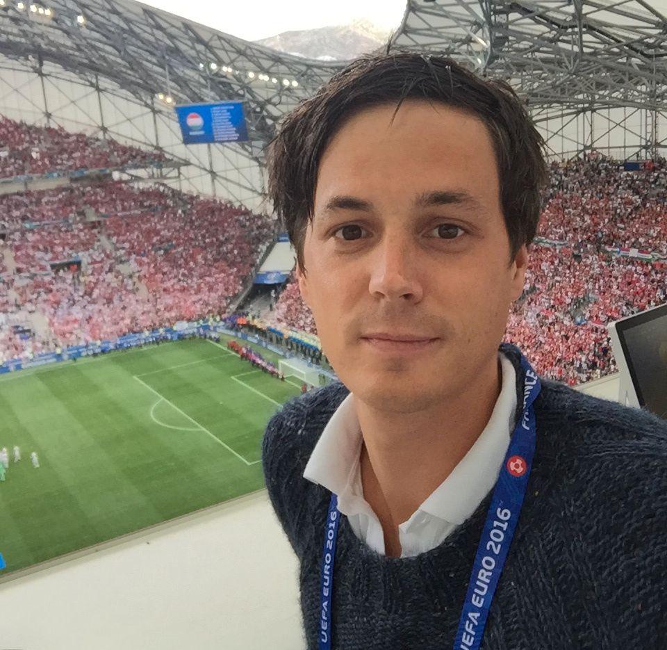 VG I FRANKRIKE: Øyvind Brenne dekker EM for VG.