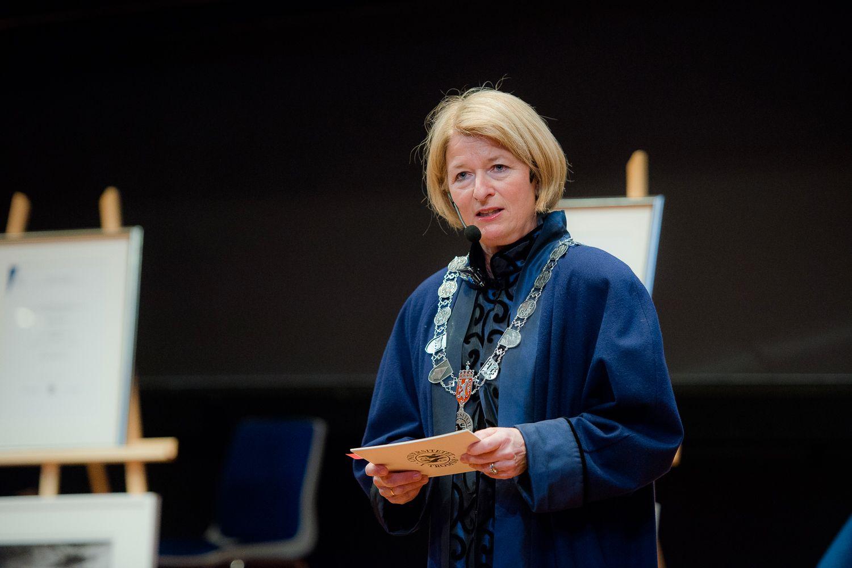 HAR FÅTT VARSLER: Rektor Anne Husebekk ved UiT, her i 2015.
