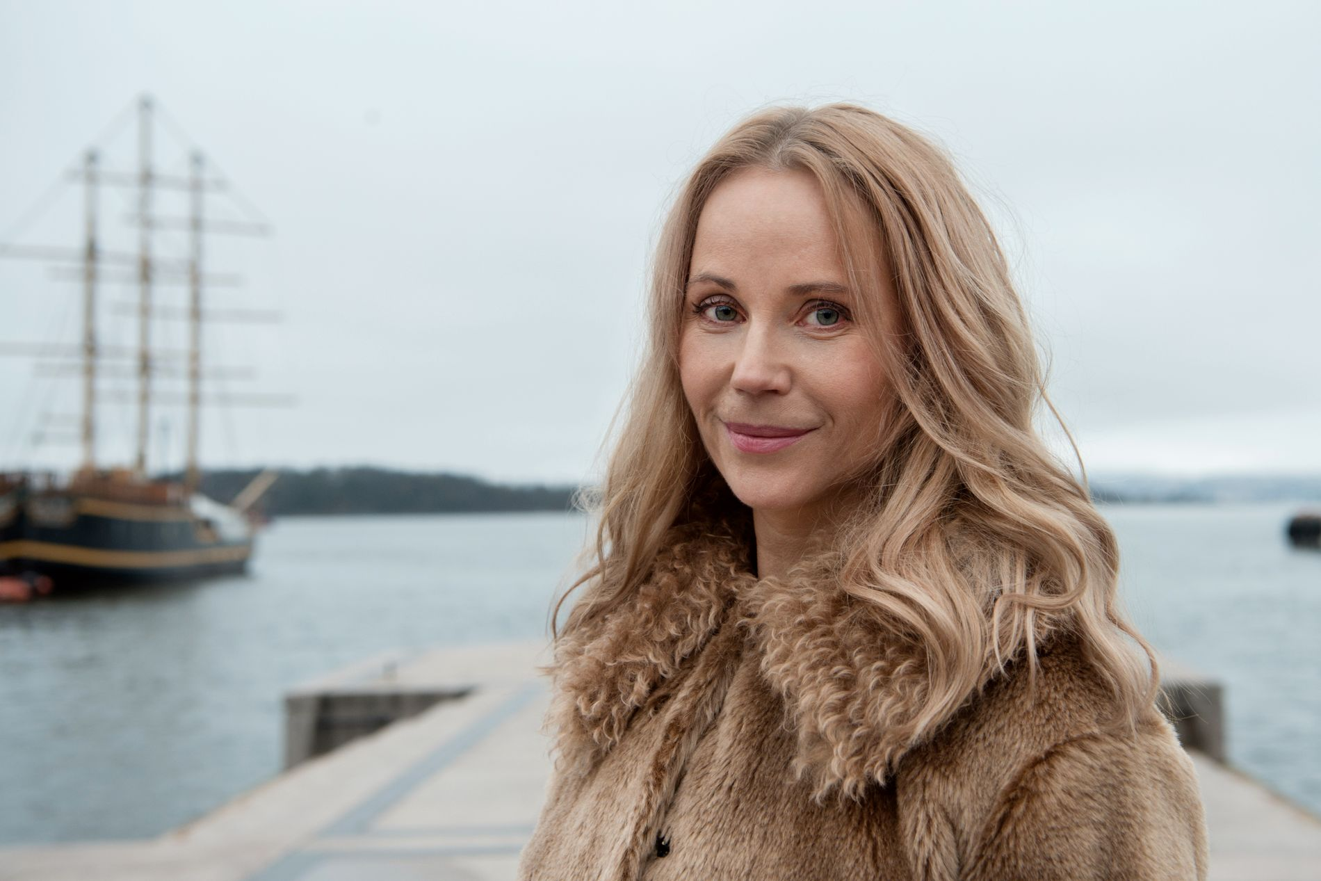 READY FOR NEW DRAMASERY: Sofia Helin, here in connection with the news that she must play Crown Princess Märtha in