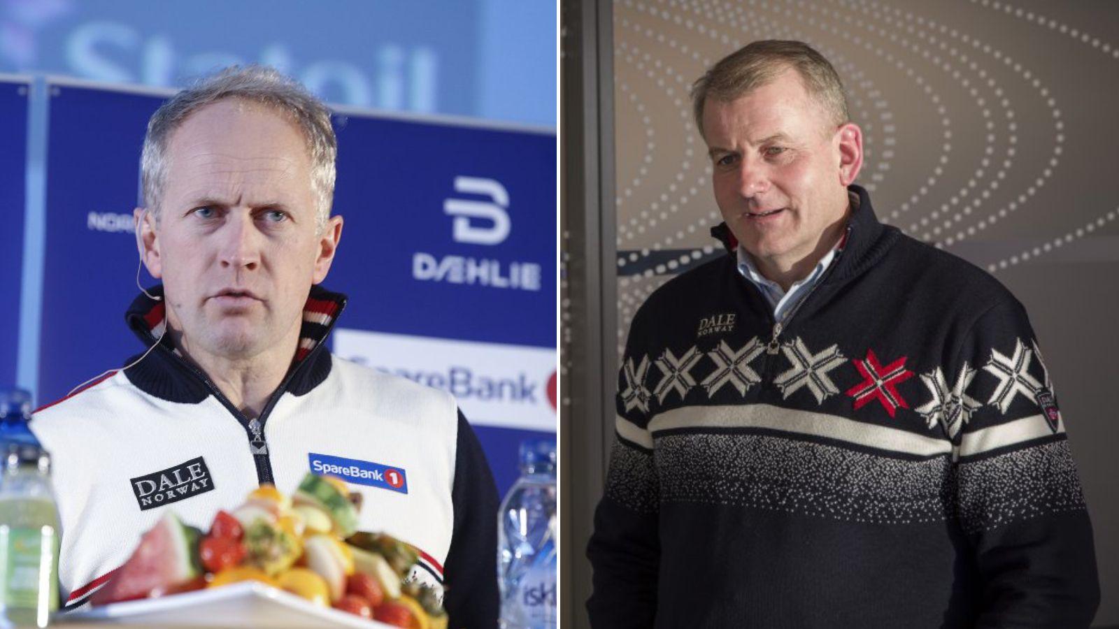 Administrasjonssjef Espen Bjervig og skipresident Erik Røste har tatt gode grep den siste tiden.