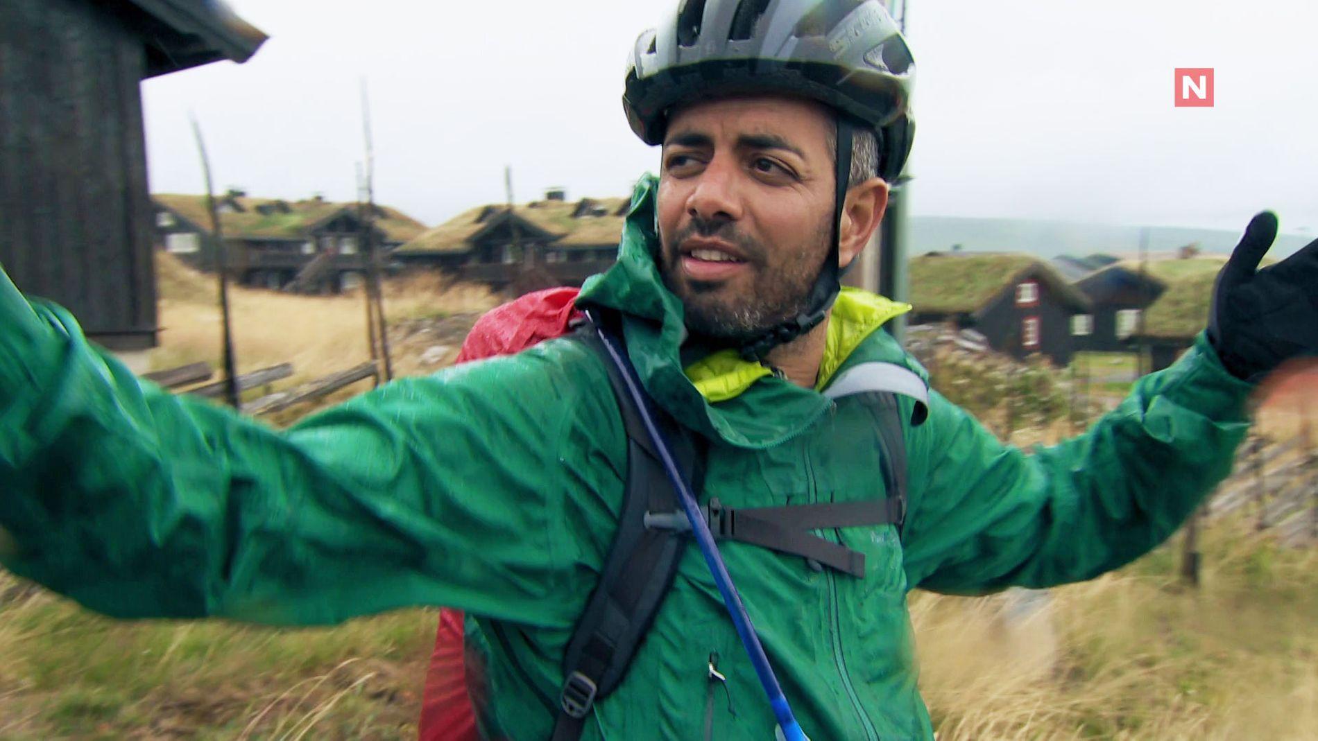 OPPGITT: Yousef Hadaoui i onsdagens episode, der han valgte å droppe ut av konkurransen.