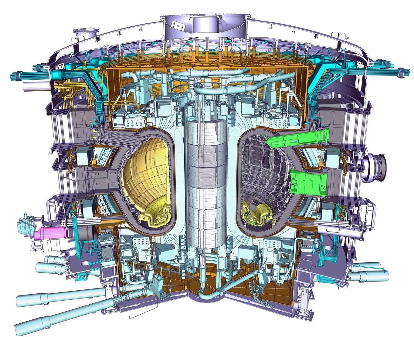 ENORM: Tokamak-reaktoren skal installeres i 2015.
