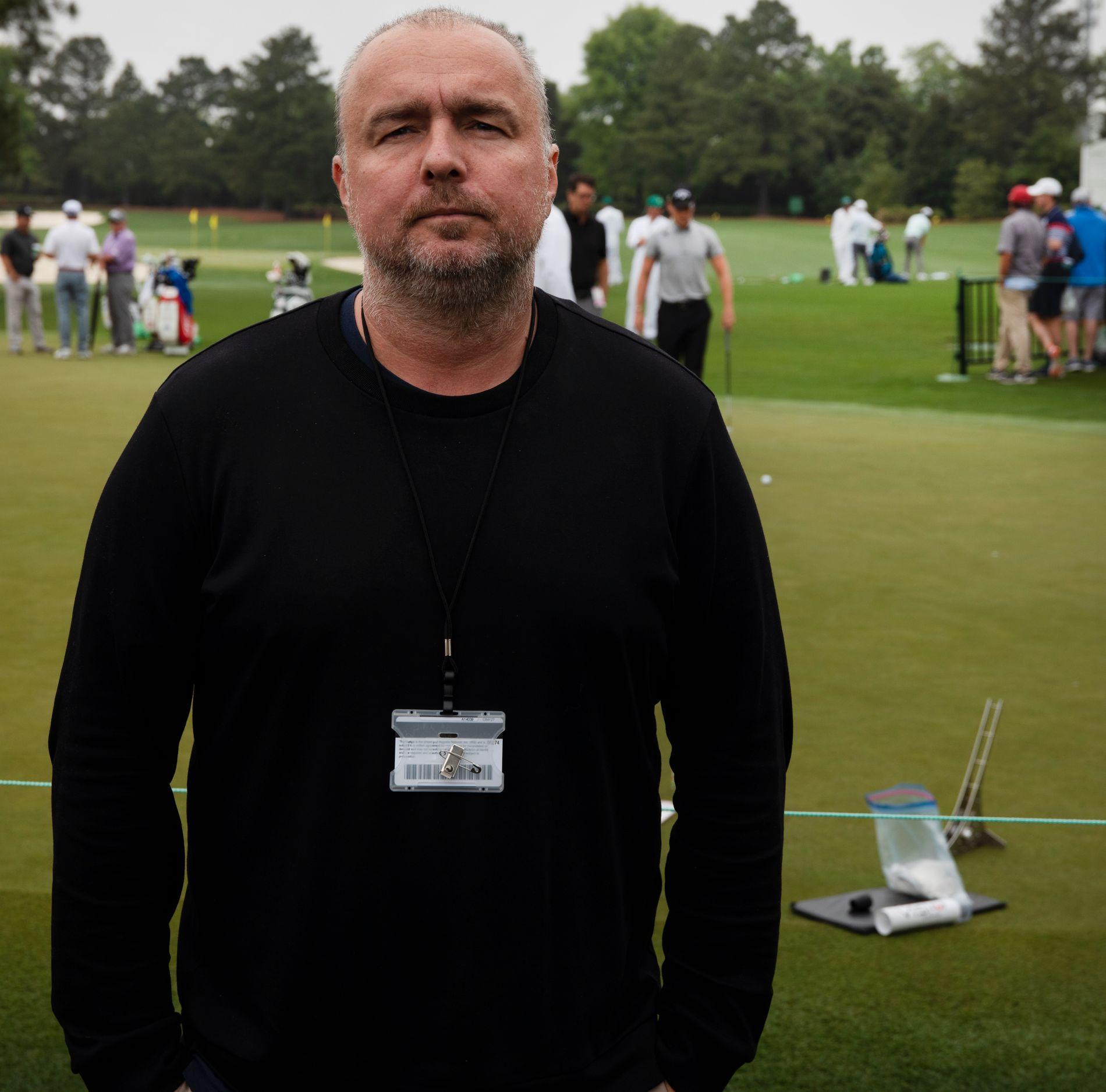 VG PÅ AUGUSTA: USA-korrespondent Robert Simsø er på Augusta National denne uka.