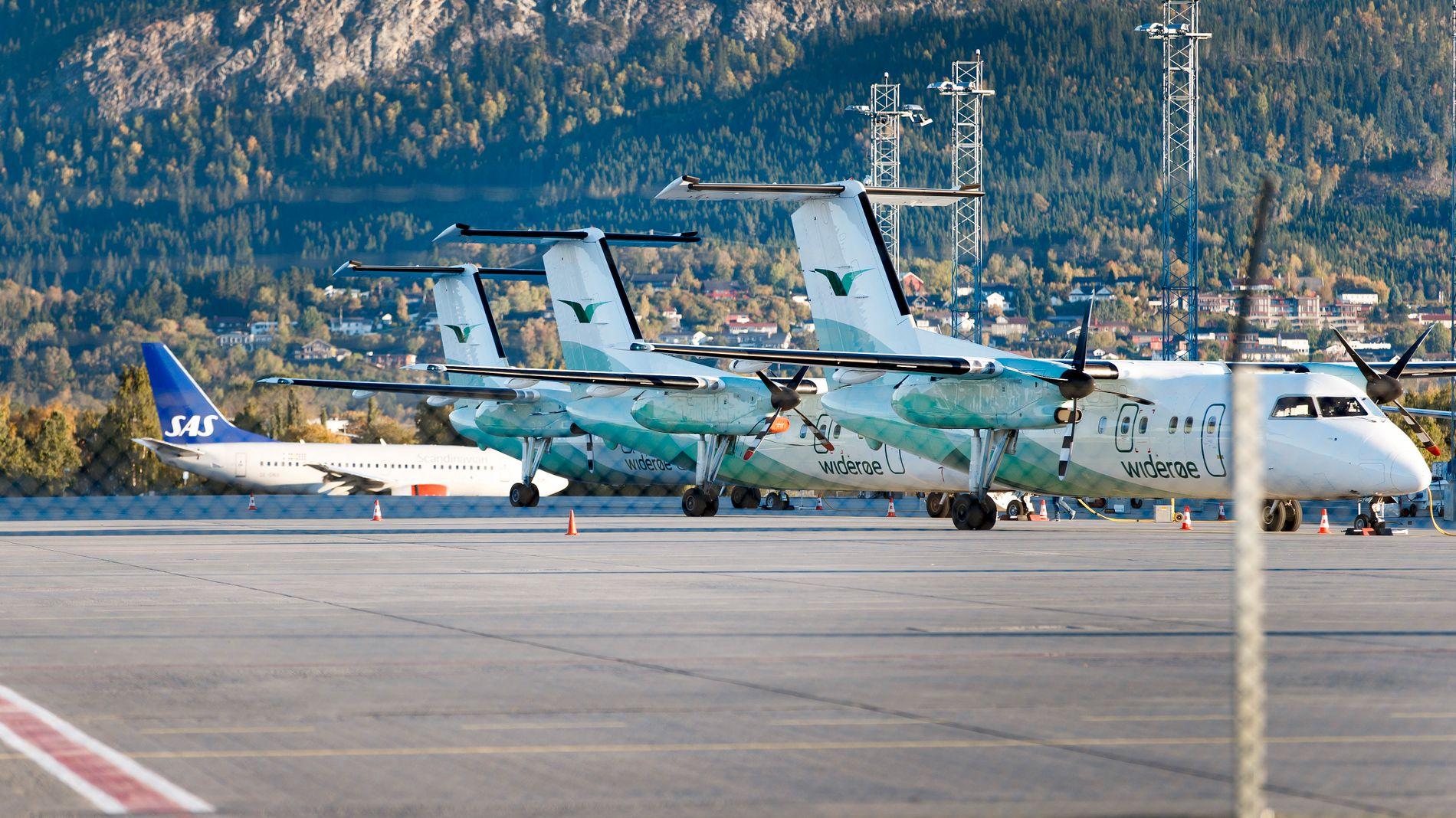 SLITER: Widerøe varsler at det kan bli færre ruter fremover. Avgifter og høy oljepris presser det vesle flyselskapet.