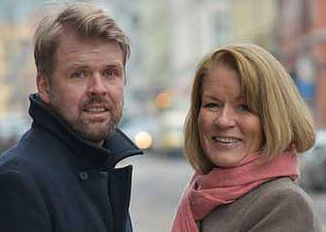 NYE AGENTER: Thomas Mala og Astrid Dalaker startet Northern Stories Literary Agency i mars i år.