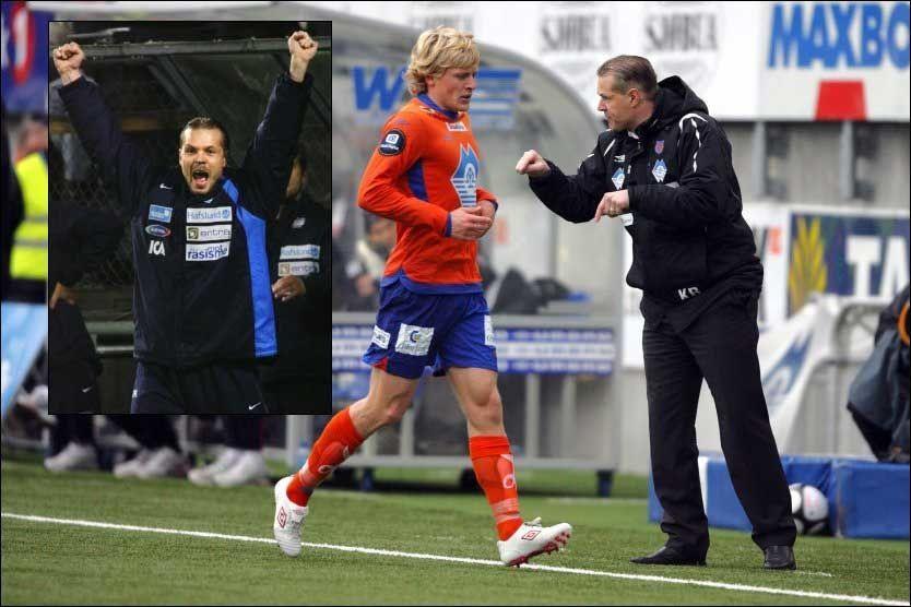 bc21df50 TROR PÅ VÅLERENGA: I 2005 jublet Kjetil Rekdal for seriegull med Vålerenga.  Nå mener Aalesund-treneren at VIF er favoritter til å gjenta den bedriften.