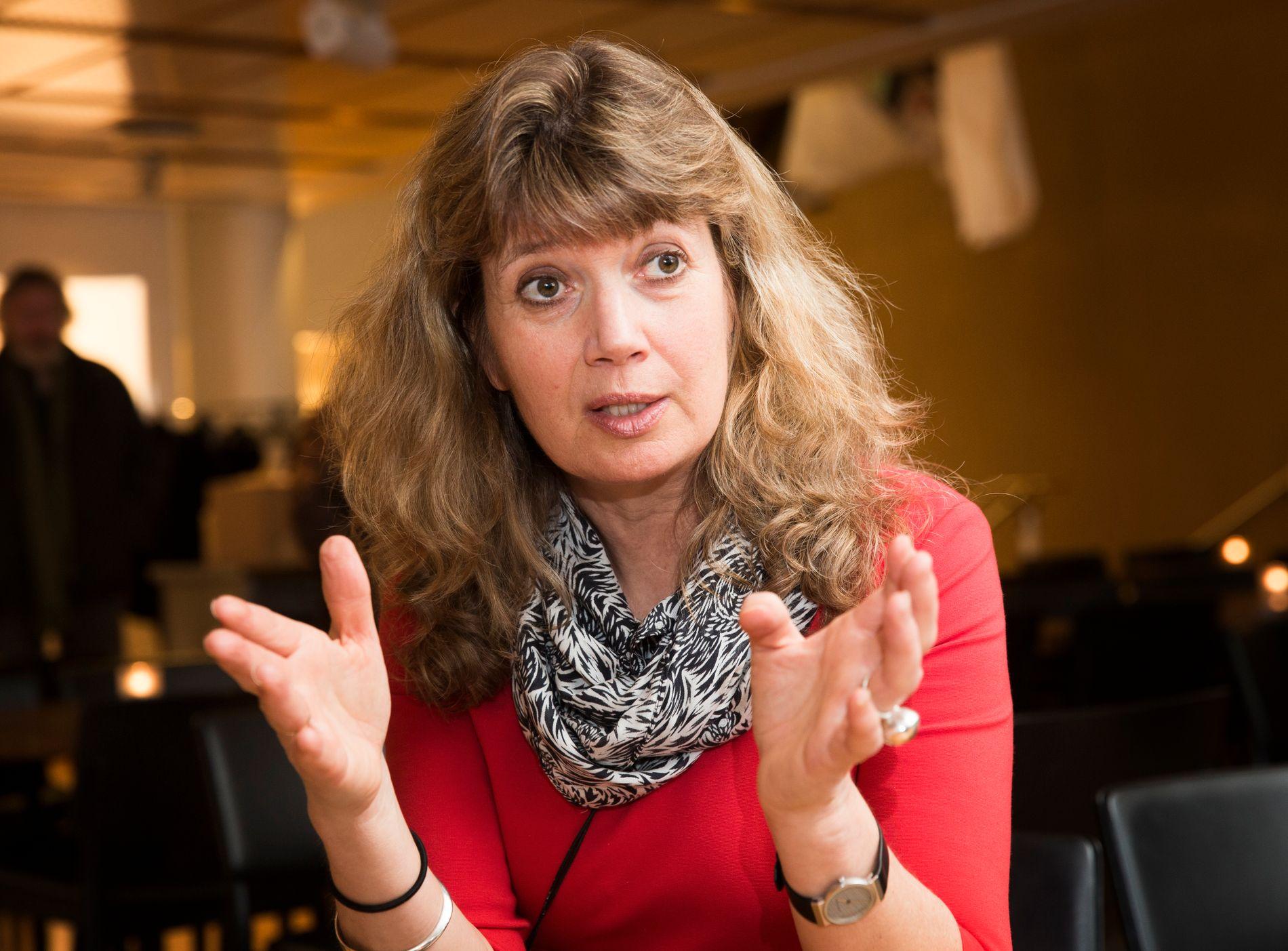 FORNØYD MED SAMARBEID: Generalsekretær i NOAS, Ann-Magrit Austenå.