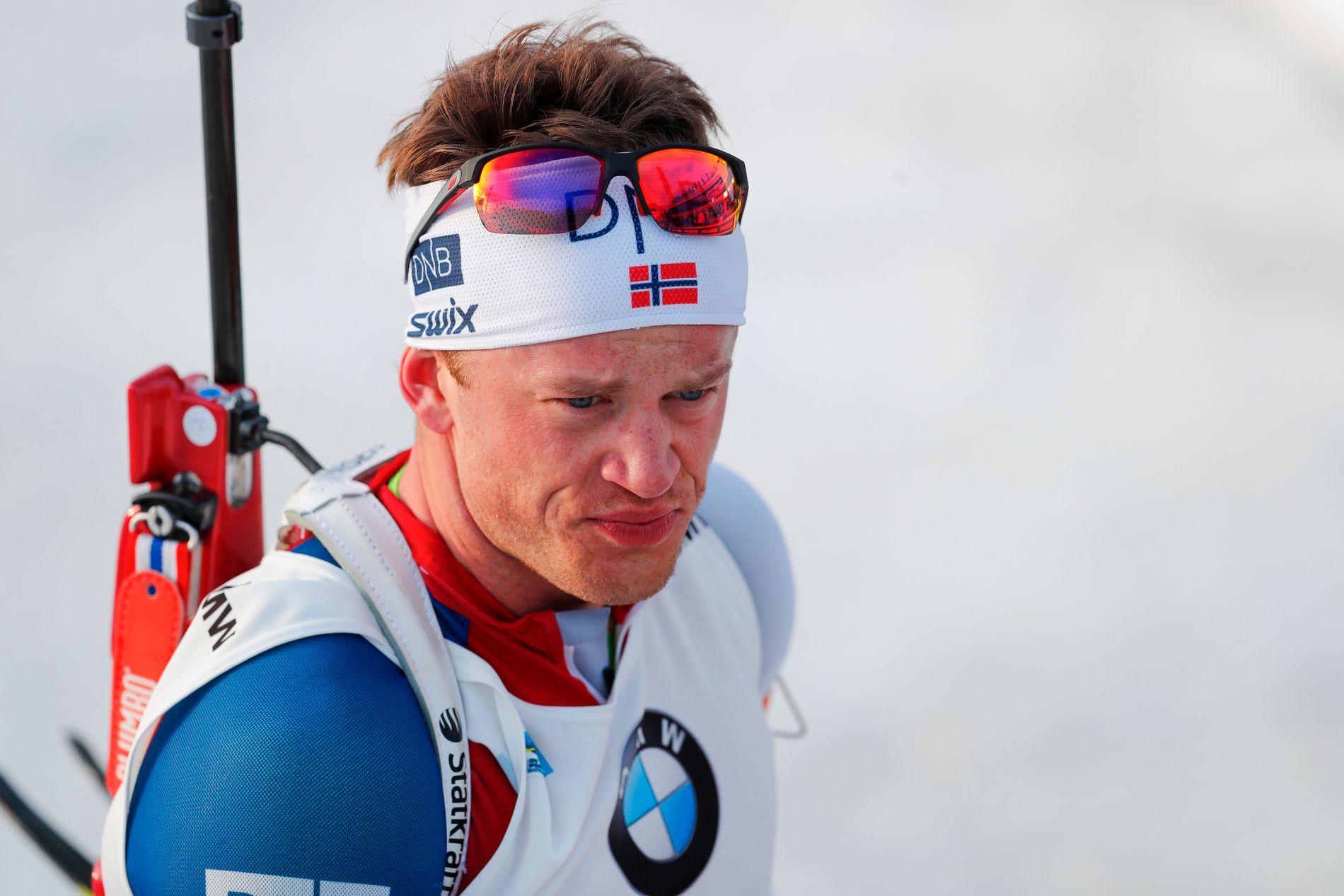 ALDRI IGJEN: Tarjei Bø er fast bestemt på aldri å gjenoppleve et så dårlig mesterskap som Norge hadde i 2017-VM.