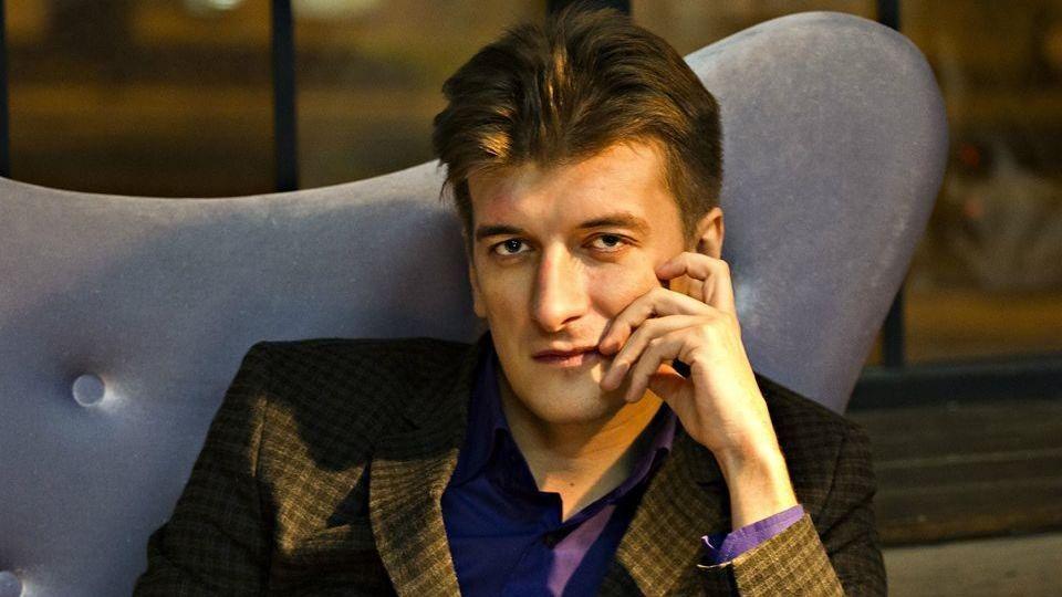 DØD: Maksim Borodin (32) var en uredd etterforskende reporter for den russiske nettavisen Novij Djen, som skrev om russiske hemmelige styrkers innsats i Syria.