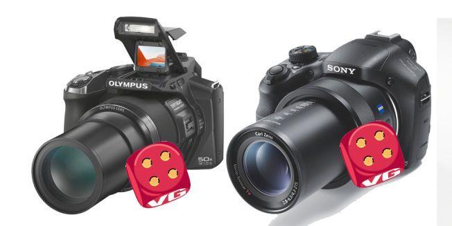 UAVGJORT: Både Olympus og Sony leverer i gode kameraer, men treg autofokus og mye bildestøy trekker ned.