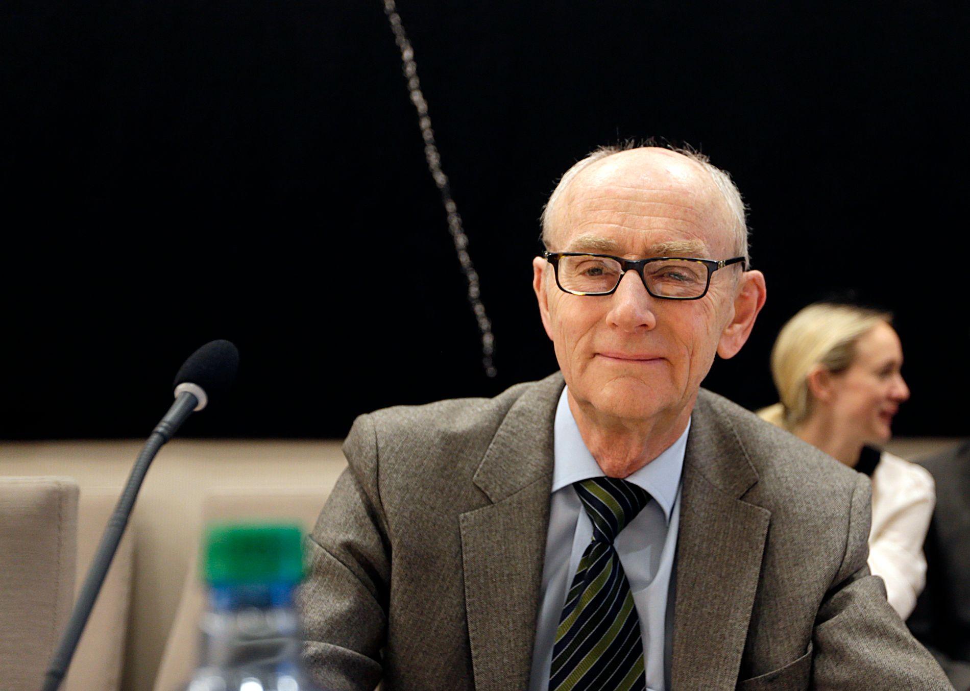 PROFESSOR: Jan Fridthjof Bernt ved Universitetet i Bergen.