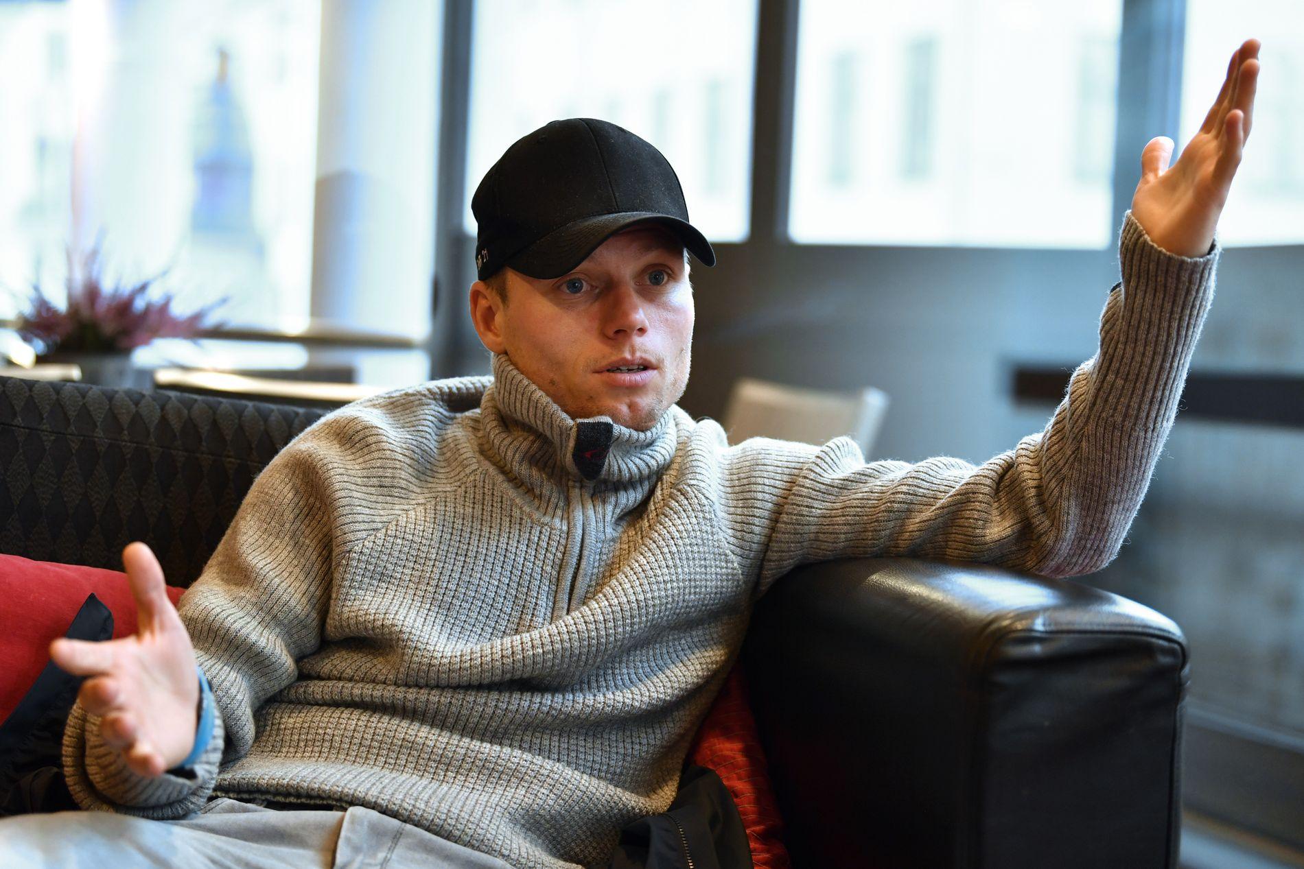SNAKKER FORNUFT: Bjørn Helge Riise møter VG dagen etter Aalesunds seier over Rosenborg i Eliteserien.