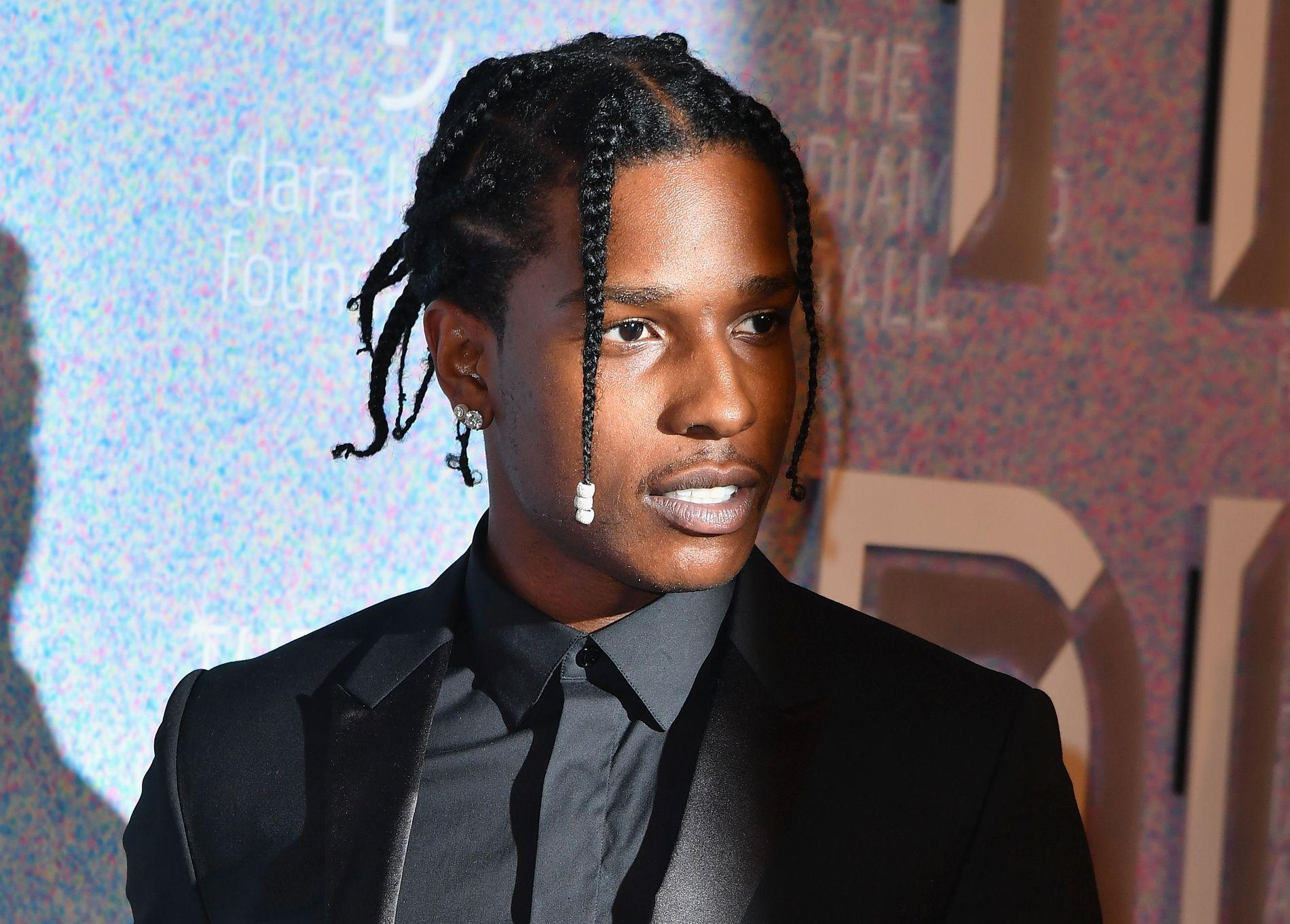 ARRESTERT: A$AP Rocky, her avbildet på et arrangement i New York i september 2018, sitter fengslet i Sverige.