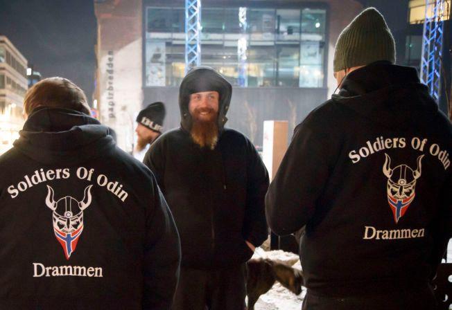 PATRULJERER: Odins soldater vil gjøre norske gater trygge.