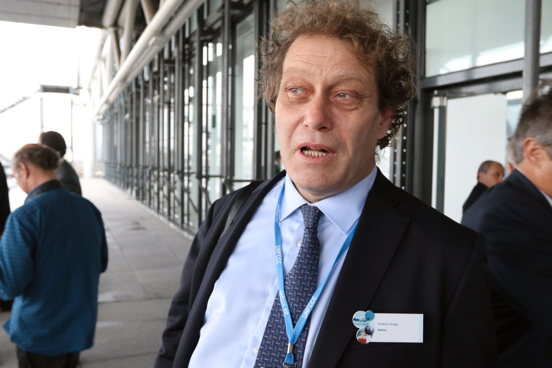 SINT: Bellona-leder Frederic Hauge har trålet statsbudsjettet torsdag formiddag.