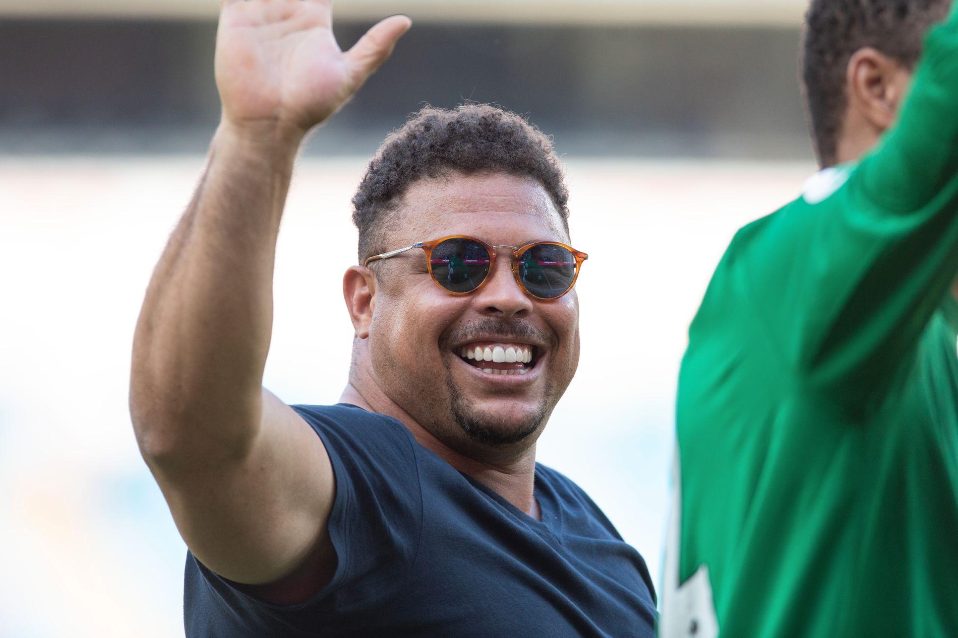 KAN GLISE: Ronaldo tjente, ifølge VGs kilder, gode penger på sitt korte norgesbesøk.