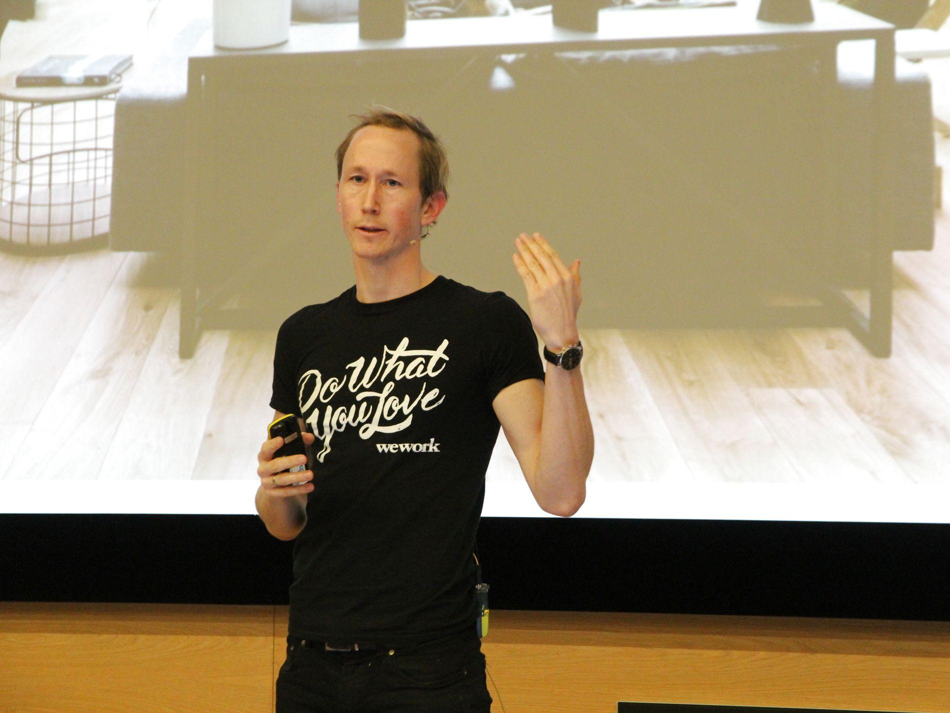 Henrik Taubøll leder Wework i Norden, Nederland og Baltikum sammen med Salman Saeed.