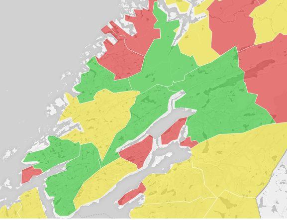 I Trøndelag har flertallet av dem som har stemt i flere kommuner vært for sammenslåing. Fra før har også fylkene Nord-Trøndelag og Sør-Trøndelag bestemt seg for å slå seg sammen.