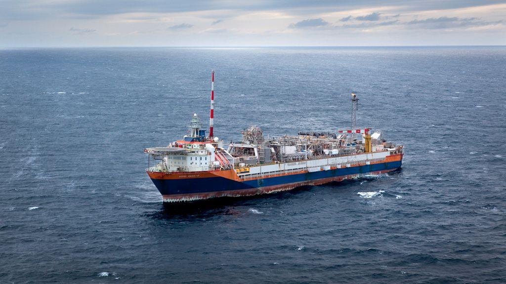 Produksjonsskipet (FPSO) på Norne-feltet til Equinor i Norskehavet