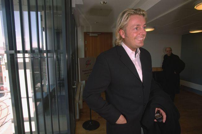 DØMT IGJEN: Runar Søgaard skal ifølge svenske Expressen være dømt til fengsel i to måneder for å ha innlevert årsregnskapet for sent. Her er han avbildet i forbindelse med en annen rettssak i 2001.