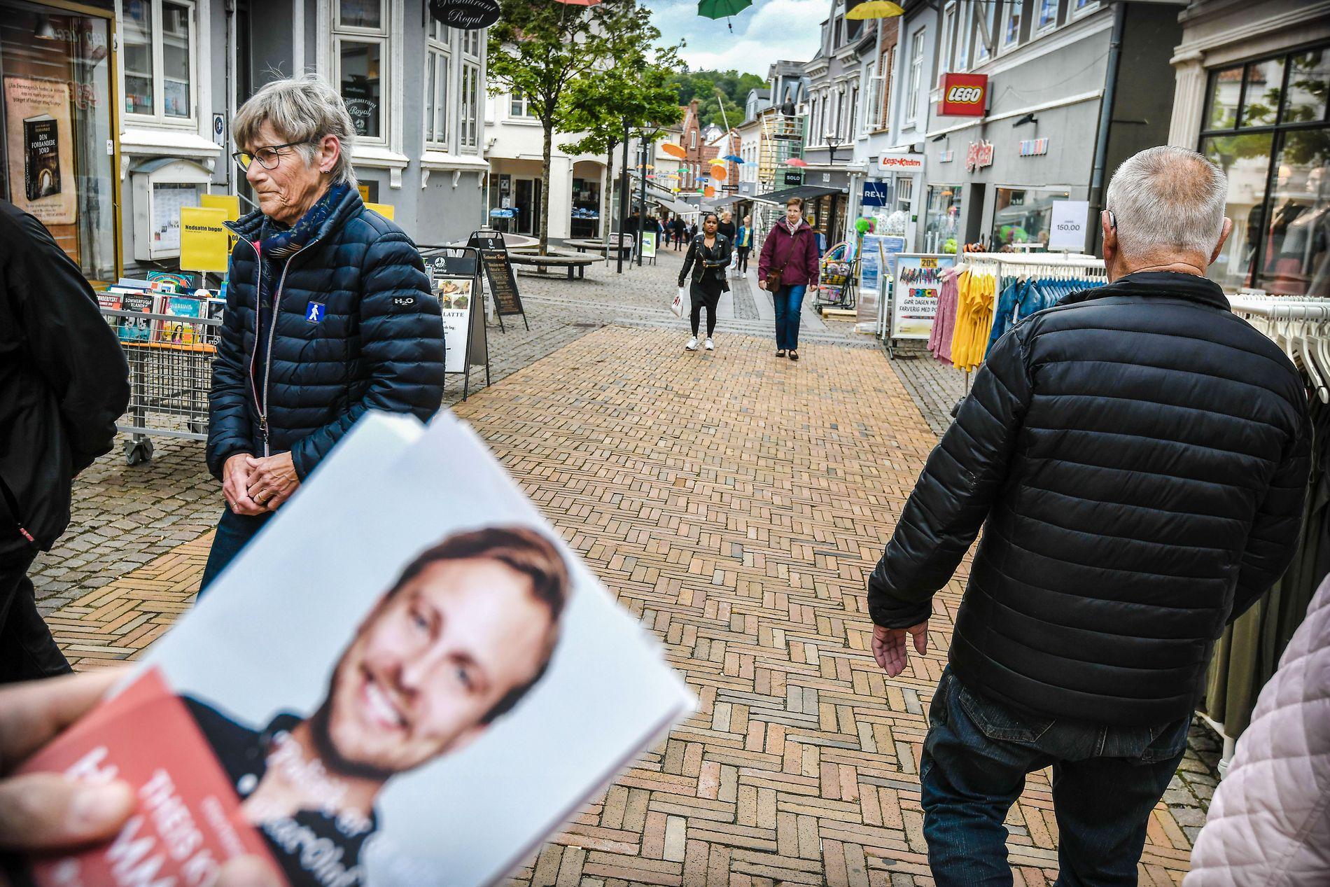 HISTORISK: Socialdemokratiet ligger an til å bli det største partiet i Sydjylland. Hvis det skjer, er det første gang i dette årtusenet.