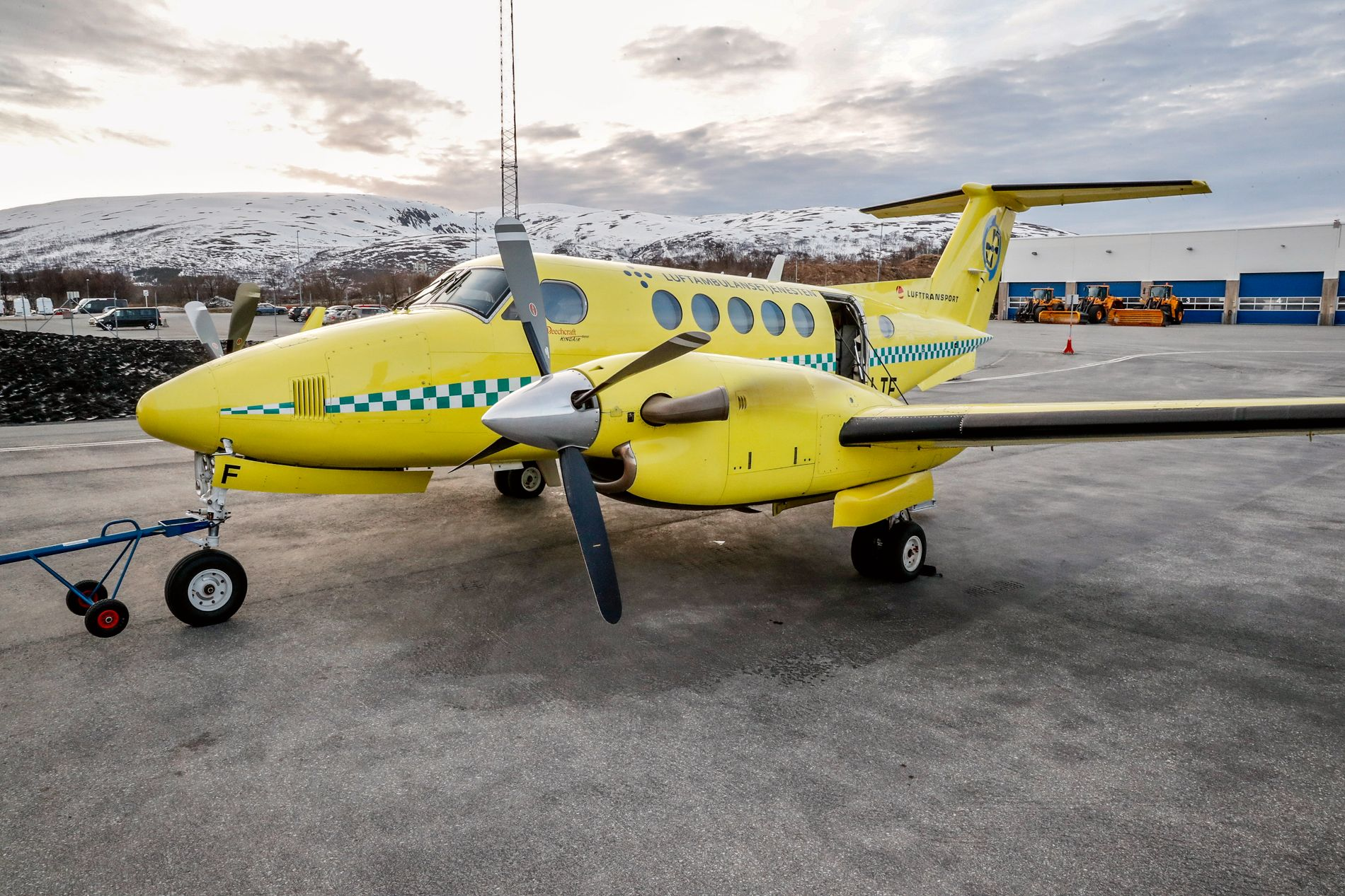 KONFLIKT: Siden mars har det vært forhandlinger mellom Babcock og norsk flygerforbund for å få til en overgang av ambulanseflygere fra Lufttransport.