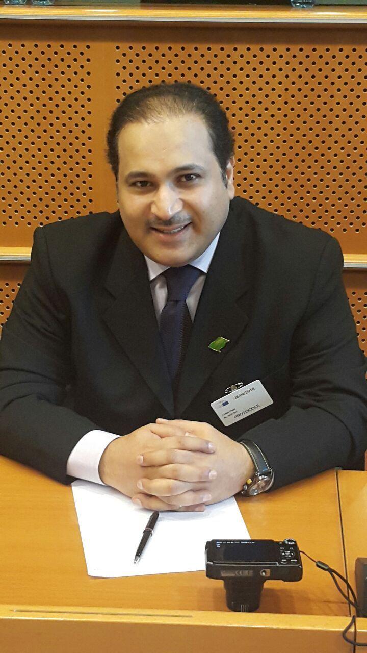 KONGENS RÅDGIVER: Zuhair Alharthy er sjef for utenrikskomiteen i parlamentet i Saudi-Arabia, også kalt Shura-rådet, som rådgir kong Salman.