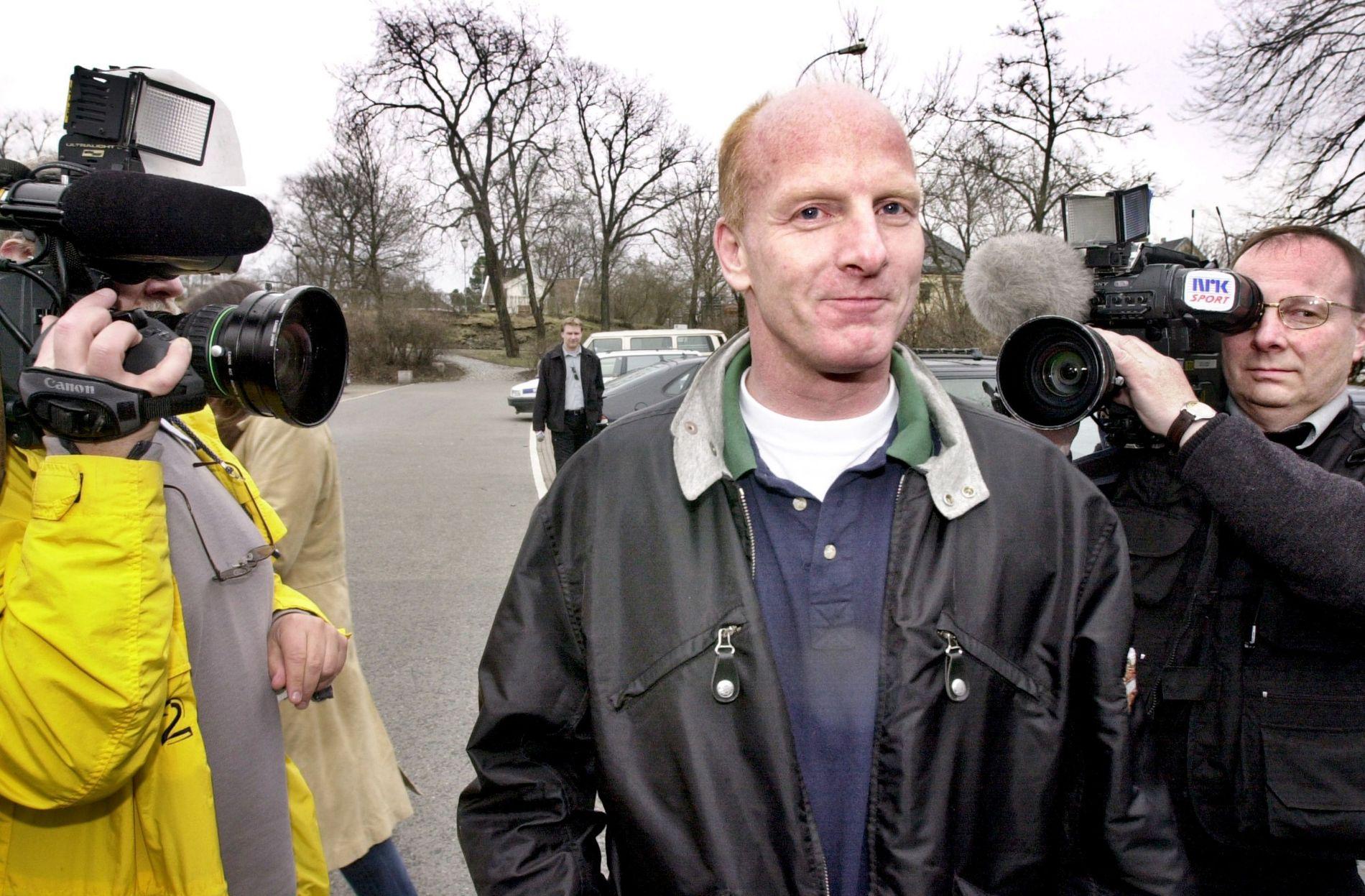 FØR DOMMEN: Lars Grønnerød under rettssaken i Nes herredsrett 2001.