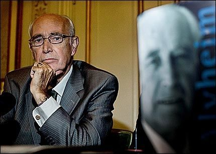 John Alvheim ble 75 år gammel. Bildet er fra lanseringen av hans selvbiografi i høst. Foto: Andrea Gjestvang