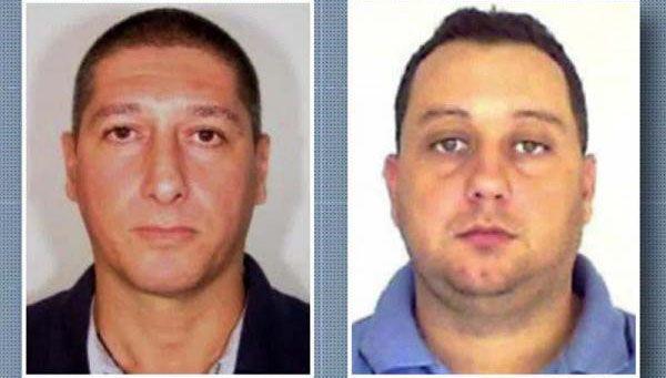 TATT FOR DRAPET: De to tidligere politimennene Ronnie Lessa (til venstre) og Elcio Viera de Queiroz ble pågrepet i mars 2019.
