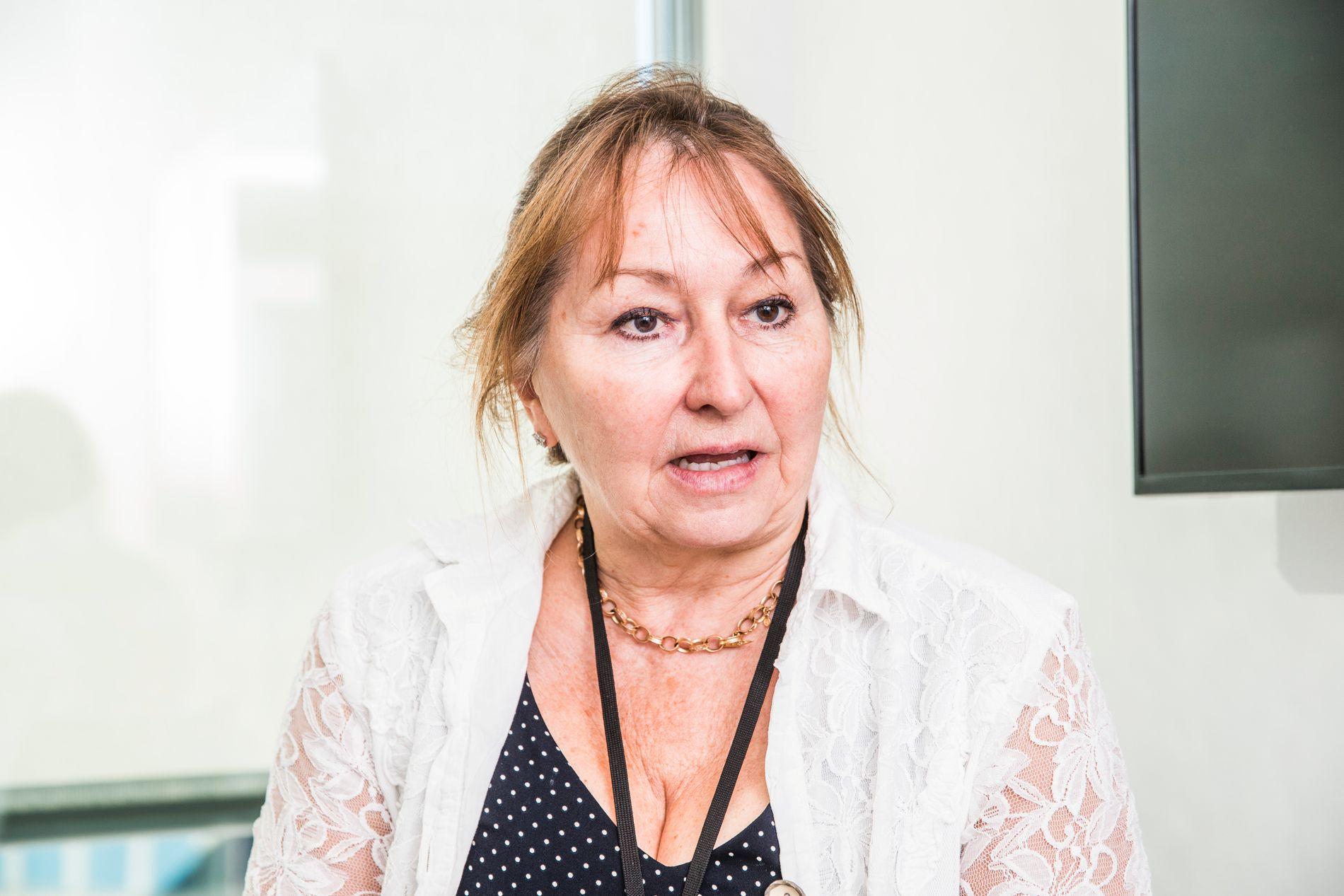 KS-leder Gunn Marit Helgesen.
