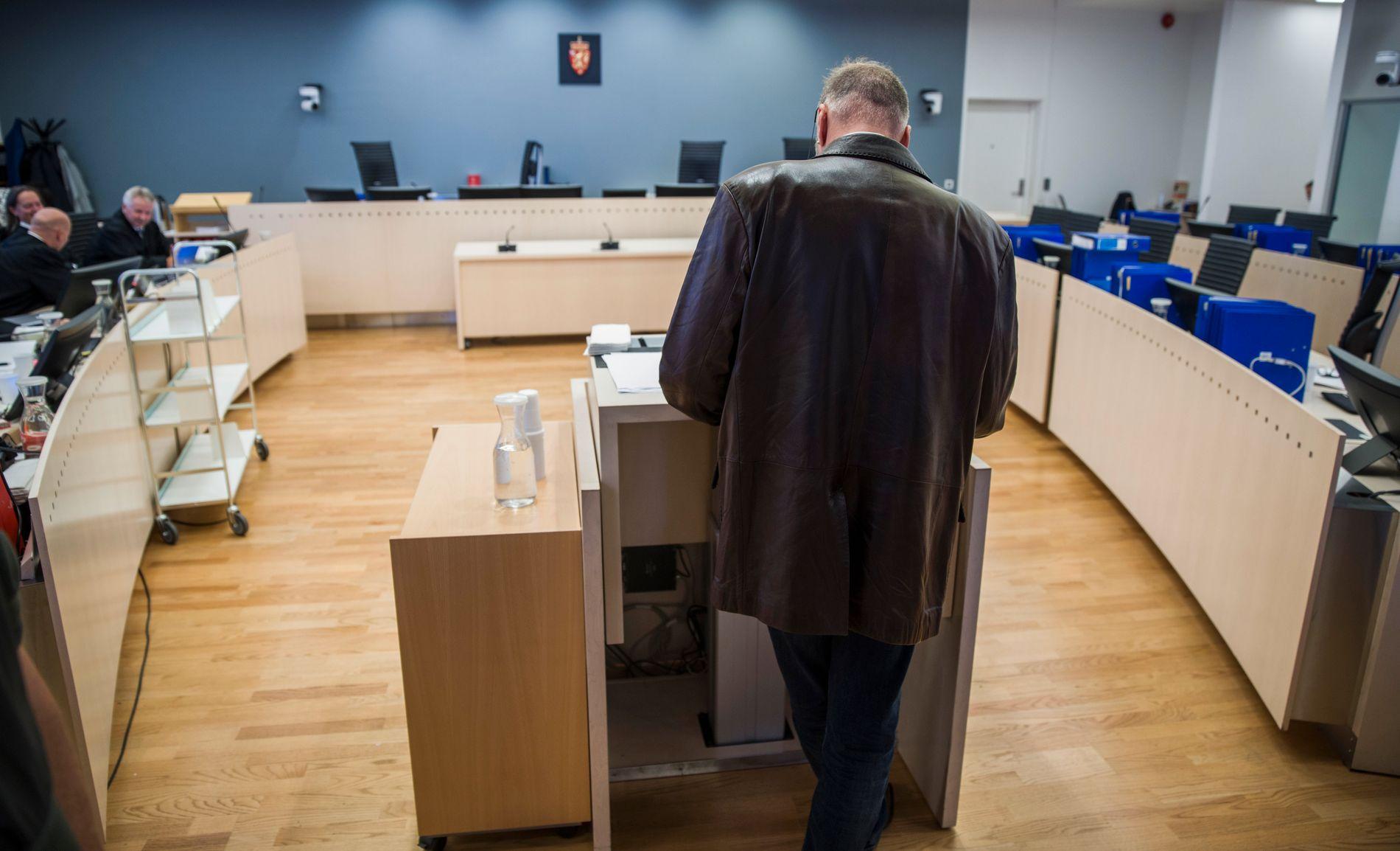 FORKLARTE SEG: Eirik Jensen har bestemt seg for å stå under hele sin frie forklaring i Borgarting lagmannsrett.