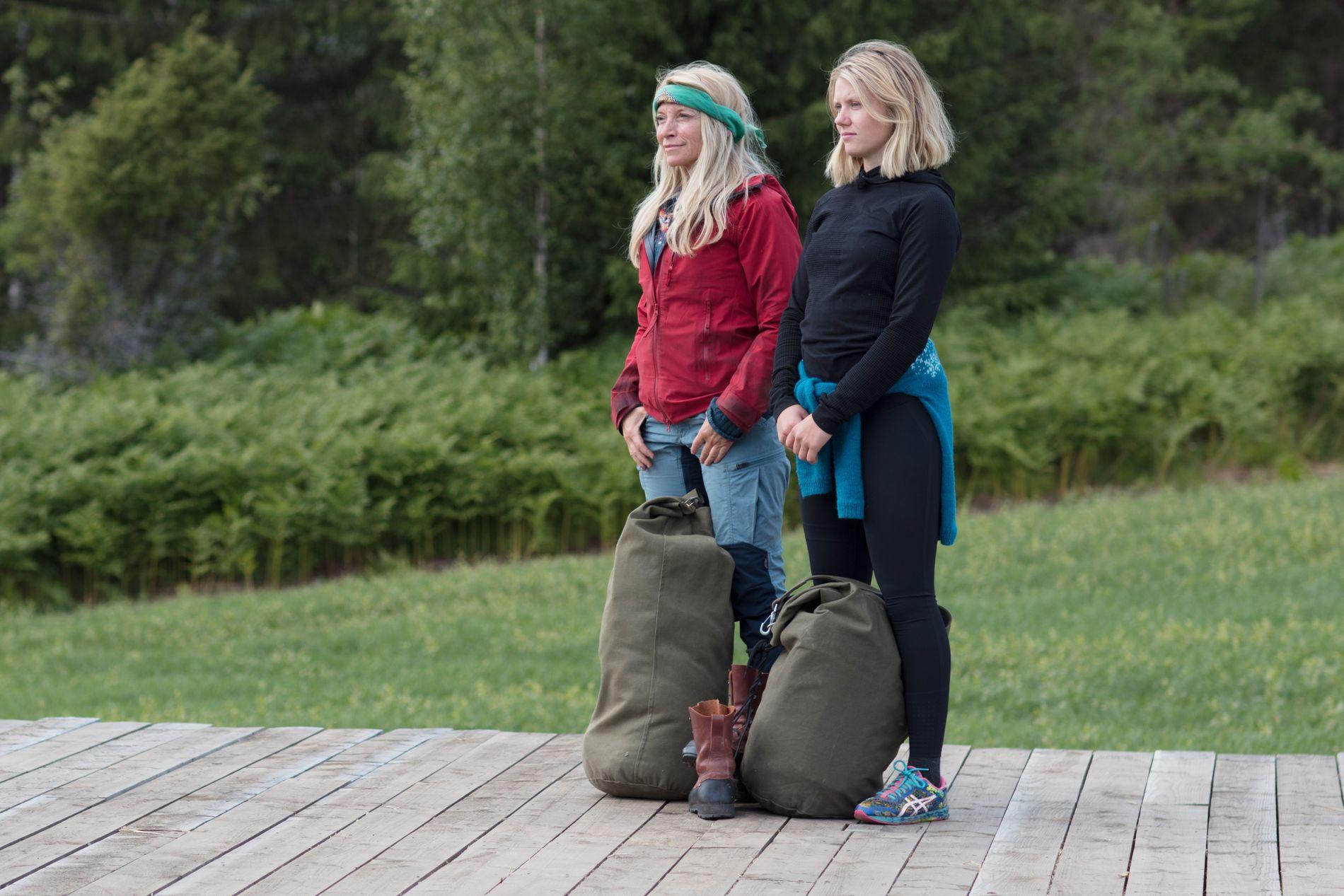UTE: Trude Mostue tapte søndagens tvekamp mot Tiril Sjåstad Christiansen, og måtte dermed forlate «Farmen»-gården. Nå venter sidekonkurransen «Torpet».