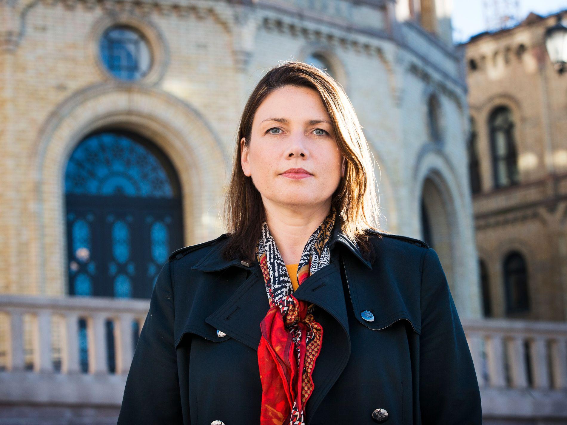 Høyres leder i Oslo Heidi Nordby Lunde. Foto: FRODE HANSEN, VG
