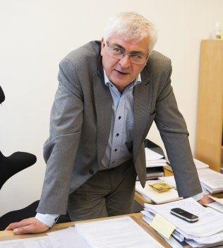 ØVERSTE PÅTALEMYNDIGHET: Førstestatsadvokat Harald Strand hos riksadvokaten sier at effektiv inndrag fra utbytte etter straffbare handlinger er en av de viktigste utfordringene i dette året.