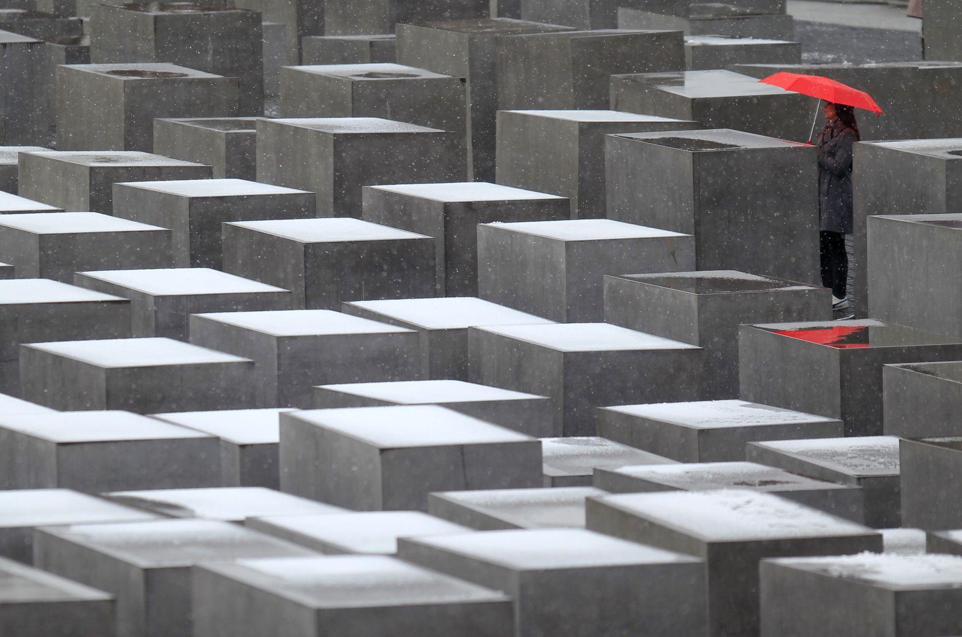 HOLOCAUST: AfD-medgrunnlegger Björn Höcke ble disiplinert etter at han i januar uttalte seg kritisk til Holocaust-minnesmerket i Berlin og sa at: «Vi tyskere er det eneste folket i verden som har plassert et momument av skam i hjertet av hovedstaden».