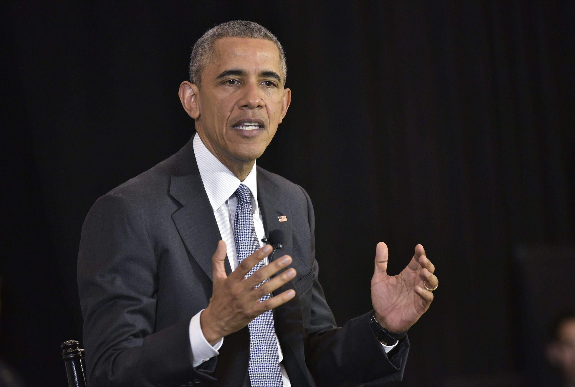 INNRØMMER FEIL: Barack Obama sier han største feiltakelse var ikke å planlegge dagene etter Gaddafis fall i Libya i 2011.
