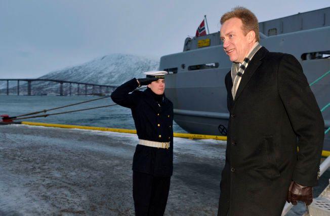 GIV AKT: Børge Brende deltok mandag på den internasjonale nordområdekonferansen Arctic Frontiers i Tromsø.