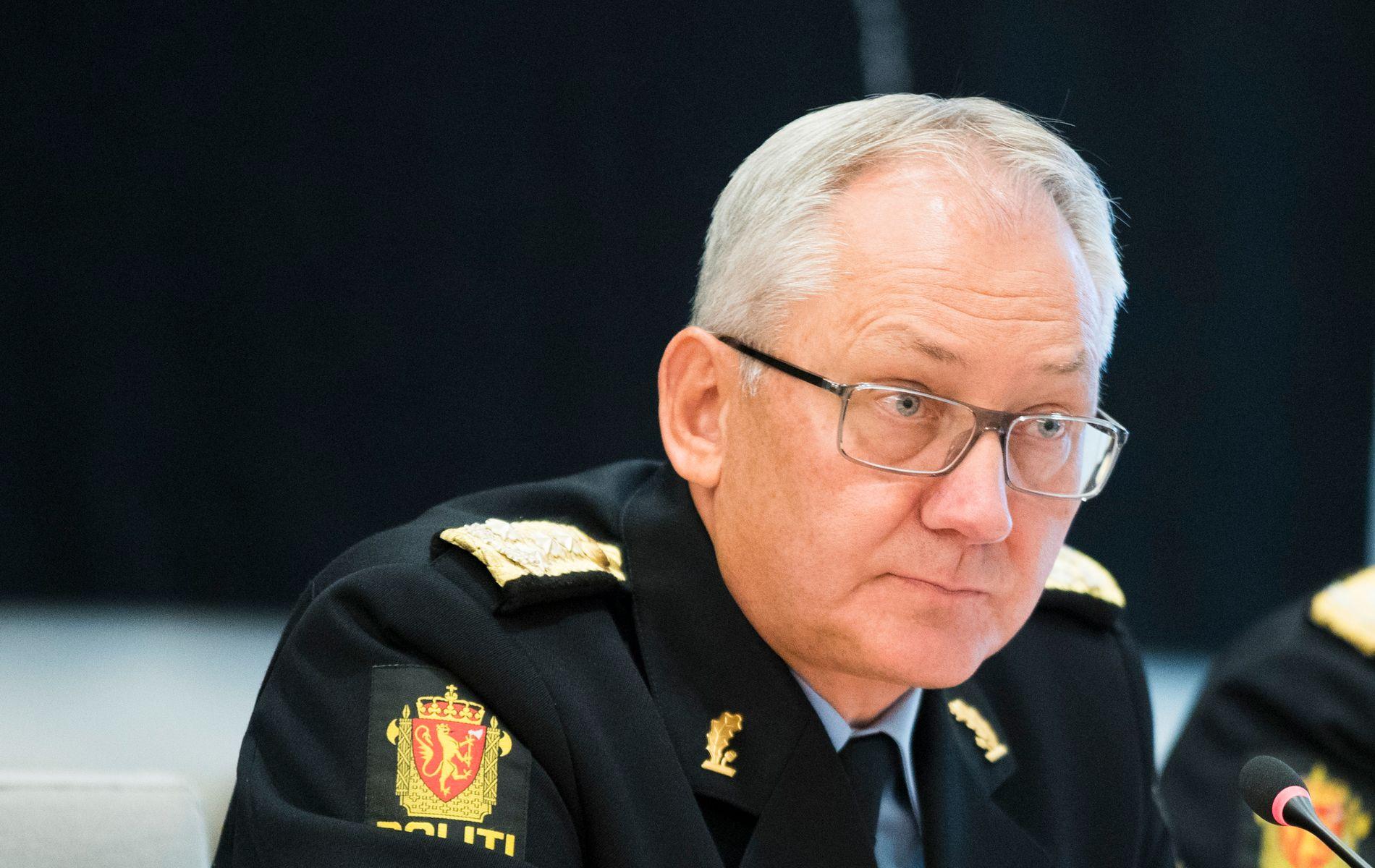 GÅR AV: Politidirektør Odd Reidar Humlegård.