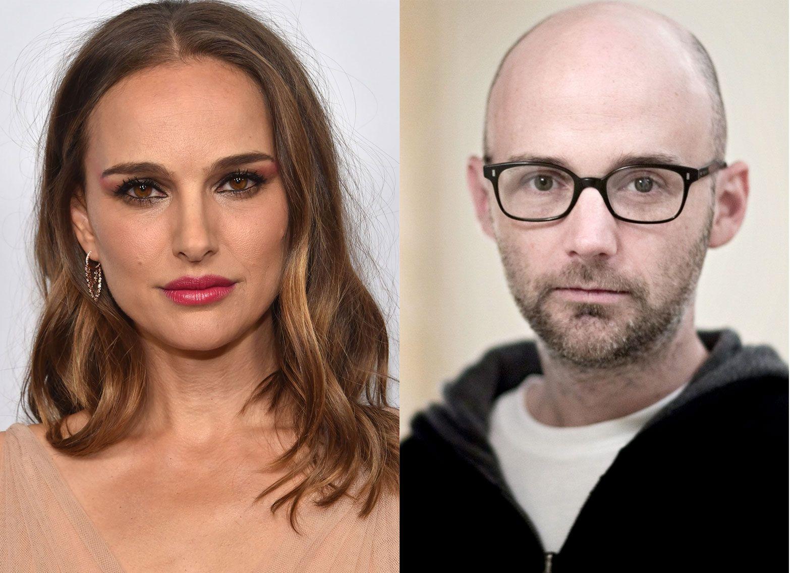 DISPUTT: Natalie Portman og Moby, her begge avbildet for en tid siden.