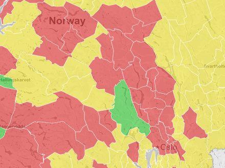 NEI TAKK: I Oppland og Buskerud har en rekke kommuner stemt nei til sammenslåing.