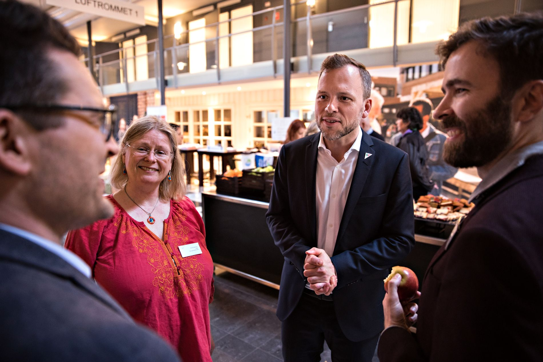 EKSEMPEL: Audun lysbakken trakk frem at flere kommuner burde gjøre som i Oslo og innføre gratis SFO/AKS i sin landsmøtetale.