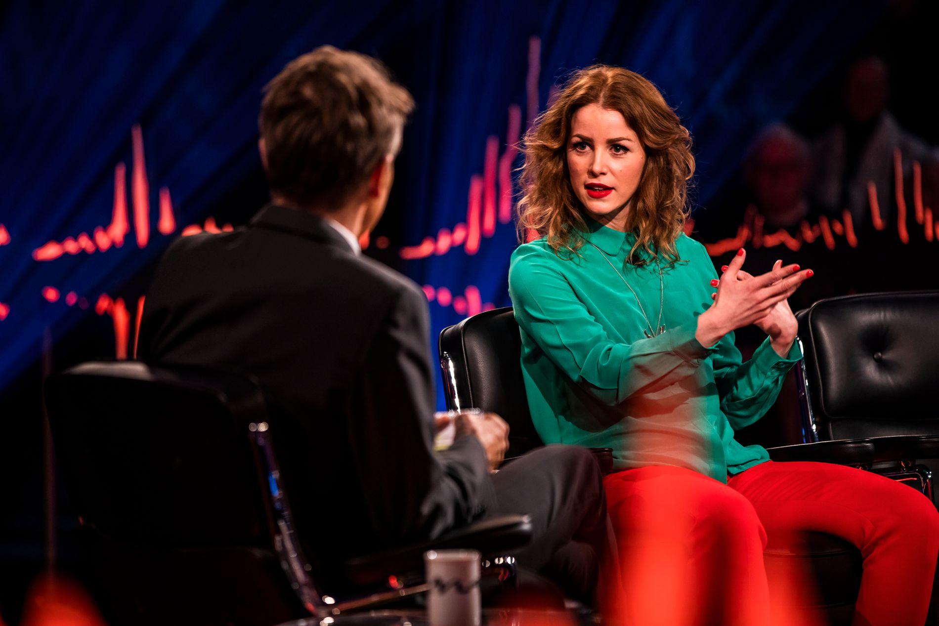 MISFORNØYD: Komiker, regissør, produsent og skuespiller Marie Agerhäll følte at hun kun ble spurt om ektemannen.