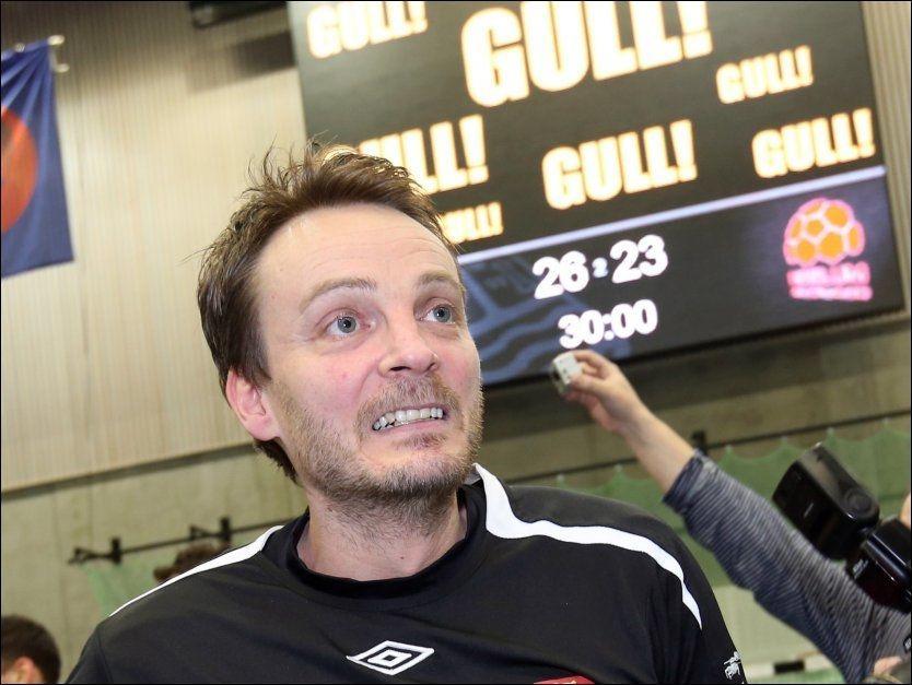 GULLTRENER: Christian Berge vant en ny tittel med Elverum, men kan ha ledet klubben for siste gang. (Foto: GEIR OLSEN)