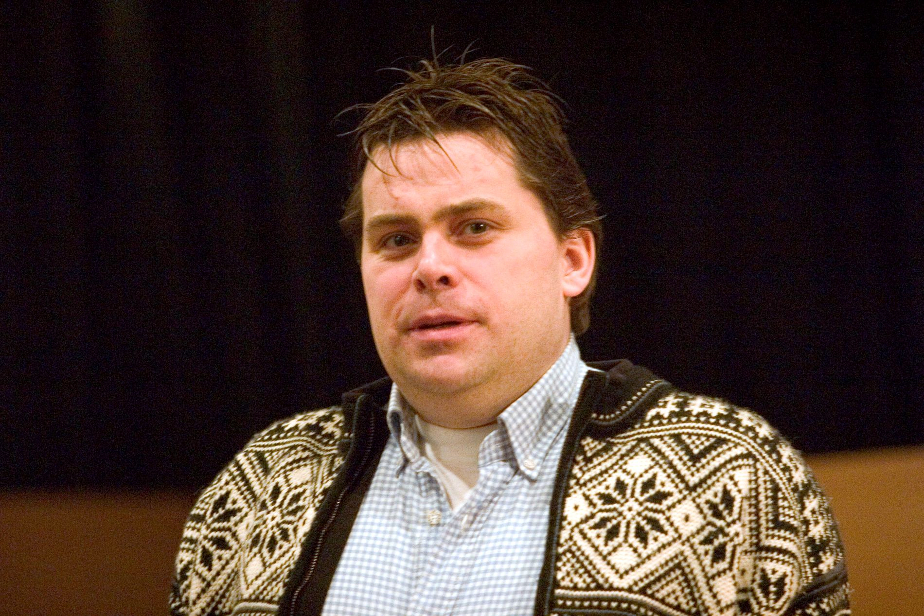 LØSLATT: David Toska i retten i 2007, iført lusekoften som ble et varemerke.